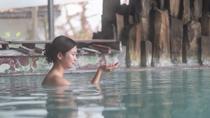 【福の湯(女湯)内湯】酸性が強いのでピーリング力が抜群!美肌効果もトップレベル