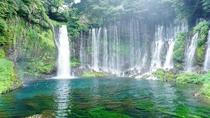 【白糸の滝】湾曲したフォルムが美しいと話題の観光スポット