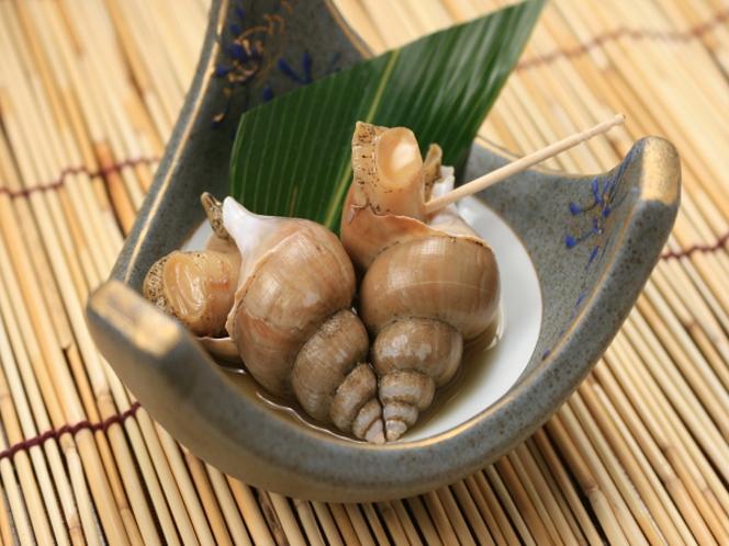 バイ貝の煮物例