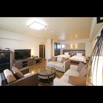 スーペリアテラス ガーデンビュー「うみかじの宿」1階に位置するお部屋です。