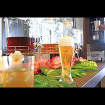 ウェルカムドリンクには「生ビール」もございます!