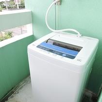 *客室一例/洗濯機は客室または共有スペースにて無料で利用できます。