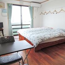 *客室一例/約12畳の広さ、2名様でご利用いただく場合はゆったり♪