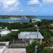 *客室一例/お部屋から青い海と瀬底島を一望!サンセットも目の前で見られます。