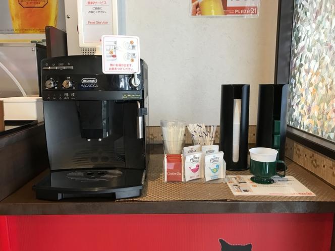 1階:コーヒーカウンター
