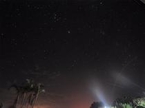 【夜景】空いっぱいに星が広がっています♪