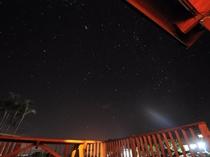 【夜景】晴れた日には流れ星が見えることも…!