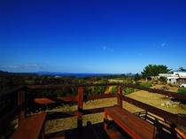 【景観】オーナー手作り展望台から見える見事な景色