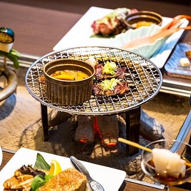 【楽天トラベルセール】ポイント10倍!!【別邸・旅籠】2食付〜囲炉裏個室で特別懐石料理を