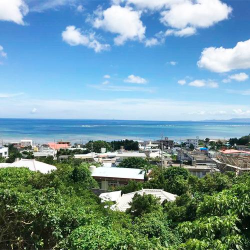 *部屋からの景色/ゆっくりと流れる沖縄時間を感じられる風景です。