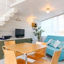 *部屋一例/各棟で広さが異なりますがダイニングスペースがございます