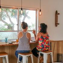 *系列カフェ一例/カフェ&レストラン「capful」(車で約20分)もお立ち寄りください