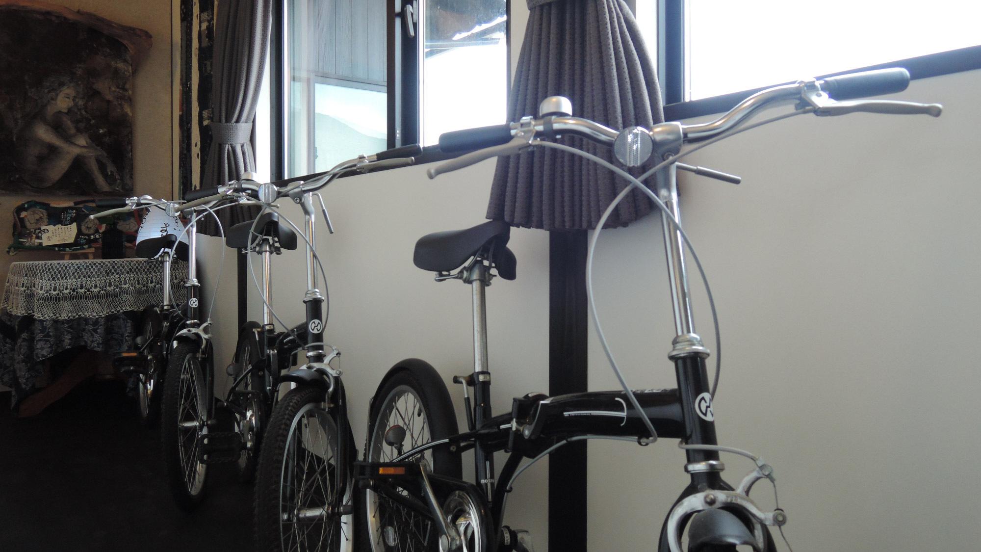 *【レンタサイクル】3台限定★当館周辺はサイクリングに最適!