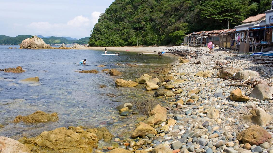 *【周辺観光】:長磯海水浴場