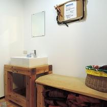 *【洗面所】バストイレ・洗面は共同です。