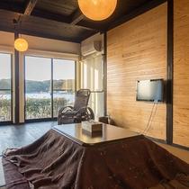 *【部屋一例】お部屋からは穏やかな海がご覧いただけます。
