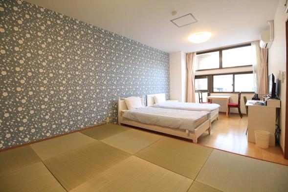【 素泊まり 】★★4人部屋でのご宿泊ならフォースルーム(洋+畳)で・・7月からプールも開放!!★