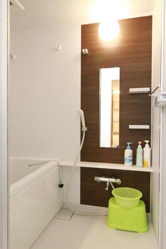【 快適アップ 】デラックスツインタイプは、バスルームも独立しております。