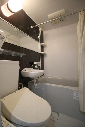 【 快適アップ 】スタンダードツインタイプは、3点タイプとなります。トイレ(温水洗浄暖房便座)付き。