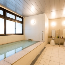 【大浴場】清掃時間等を除きいつでもご入浴いただけます。