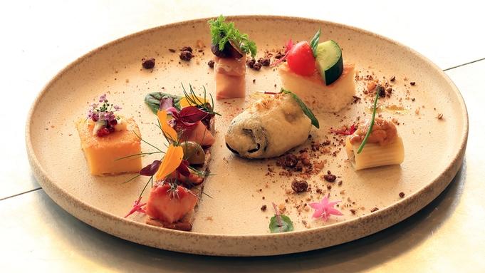 【プティコース】豚骨付きグリル◆夕食18時スタートプラン【2食付】鎌倉食材オーベルジュ