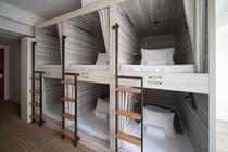 【6人部屋 2段ベッド 6 Person Room Bunk Bed】