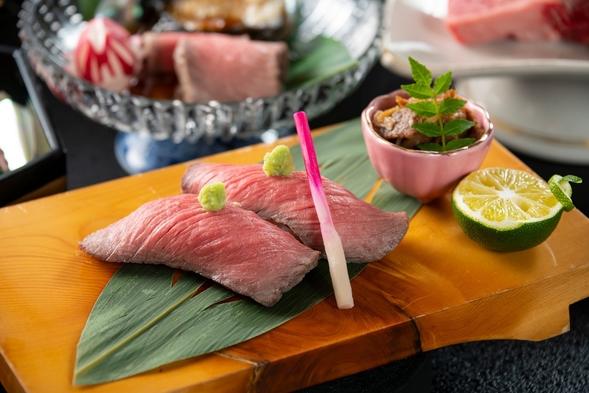 【福井ブランド若狭牛】上質な肉料理を堪能できる新会席「宴—うたげ」あぶり寿司・鉄板焼きに船盛りまで!
