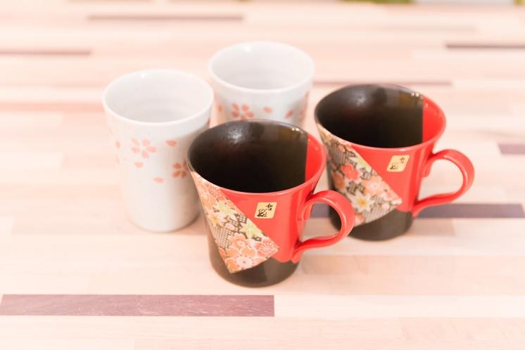 美濃焼のコーヒーカップなど