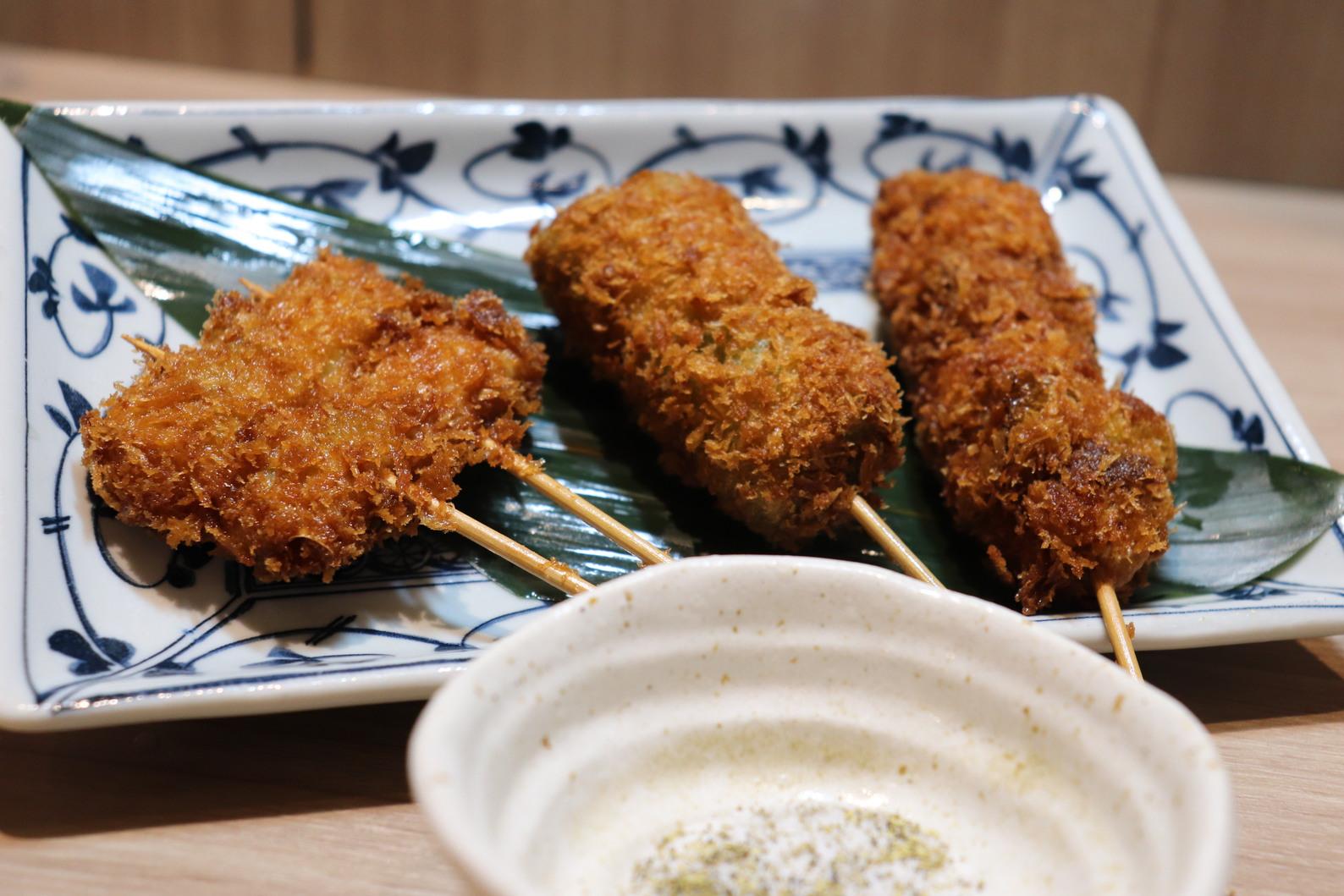 レストラン縁 夕食 串カツ