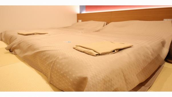 【禁煙】ジャパニーズエグゼツイン《床は畳仕様》抗菌カバー装備