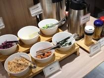 朝食【お茶漬けコーナー】