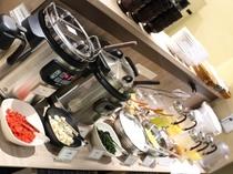 朝食【カレー・デザートコーナー】