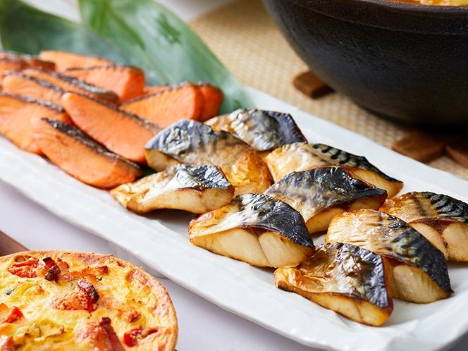 焼き魚などスタンダードなメニューもラインナップ