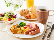 洋食でセレクトした朝食イメージ