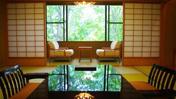 【禁煙】離れの檜内風呂付特別客室(122平米)