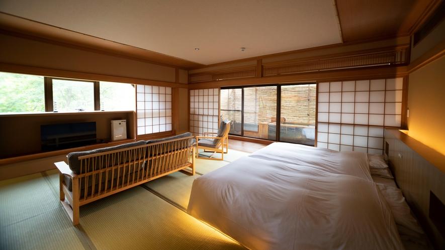 【露天風呂付和風ベッドルーム(62平米)】