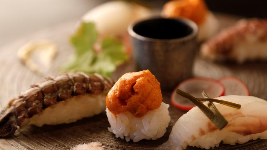 【ご夕食/ある日のお料理一例】