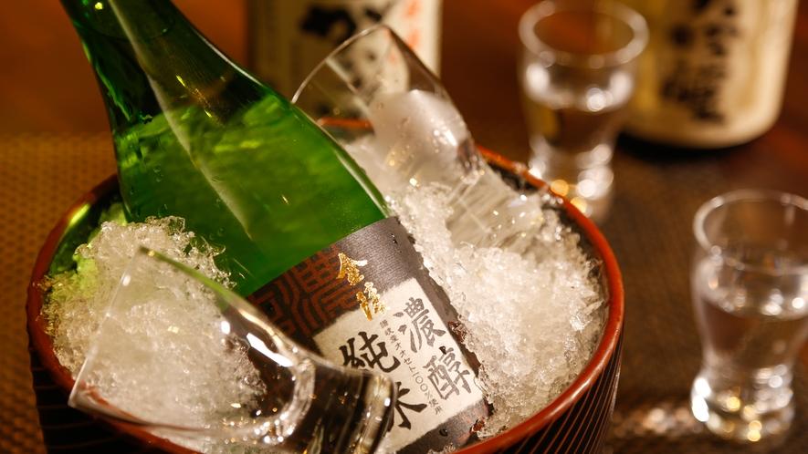 地酒や地ビール、各種ワインもお料理に合わせてお愉しみくださいませ。