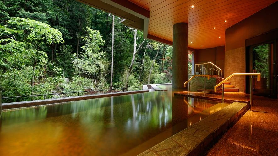 河畔風呂「せせらぎ」 露天風呂(一例)