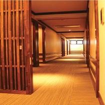 ホテル 廊下