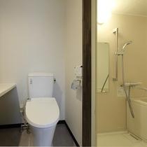 ツインROOM バス・トイレ