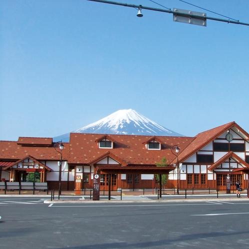 富士急行線(河口湖駅)
