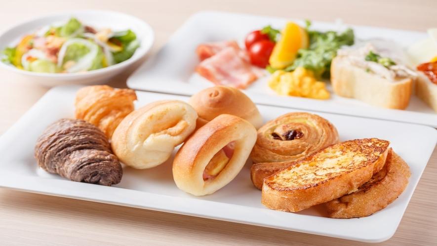 朝食バイキング(一例).