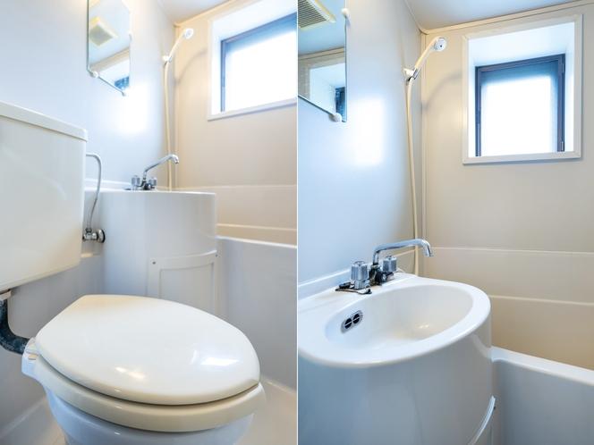 【禁煙】和室家族部屋 バス・トイレ