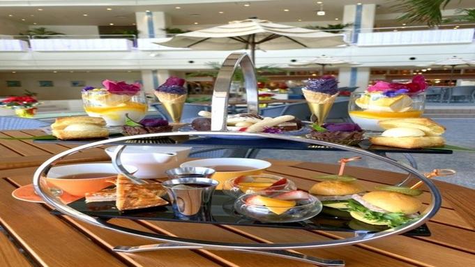 【アフタヌーンティーセット】万座のオーシャンカフェで優雅なひと時を(朝食付)
