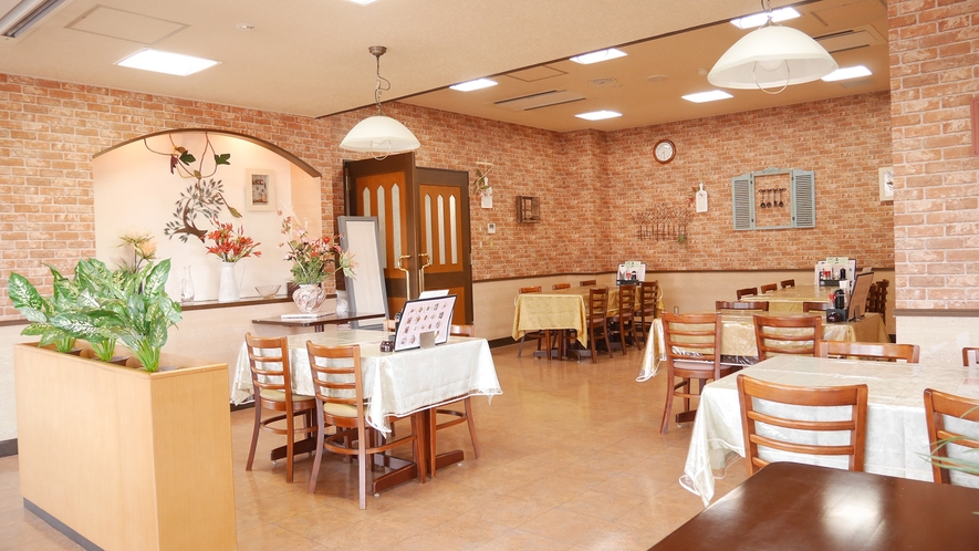 *[レストラン/1階チューリップハウス]15時までならランチ(別途料金)のご利用も可能です
