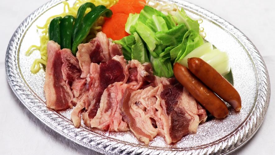 *[海の家BBQ]選べるメニュー 牛肉満腹セット