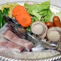 *[海の家BBQ]選べるメニュー 海鮮満腹セット