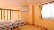 *【客室一例】世界のバンガロー「トルコ館」(2階寝室)