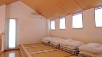*【客室一例】世界のバンガロー「デンマーク館」(2階寝室)